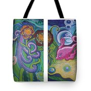 Reciprocal Liason Of The Sea Tote Bag by Genevieve Esson