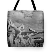 Reclined Tote Bag