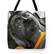 Reclining Buddha Tote Bag