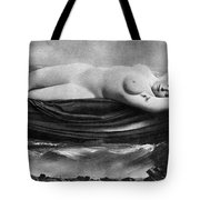 Reclining Nude, C1895 Tote Bag