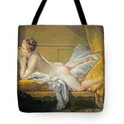 Reclining Nude Tote Bag