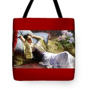 Reclining Odalisque Tote Bag