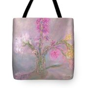 Recollection Of The Dreamy Bloom Tote Bag