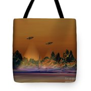 Recon Tote Bag by Corey Ford