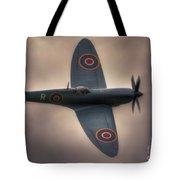 Reconnaissance Spitfire Pl965r Mkxi Tote Bag