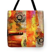 Reconstruction Abstract Tote Bag