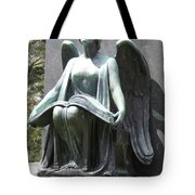 Recording Angel  Tote Bag
