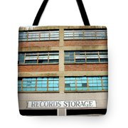 Records Storage- Nashville Photography By Linda Woods Tote Bag