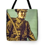 Recruitment Poster Follow Me Your Country Needs You Tote Bag