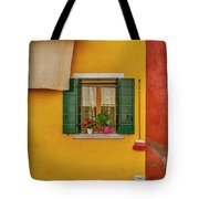 Rectangle Iterations Broom And Laundry Burano_dsc5134_03042017 Tote Bag