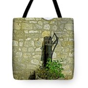 Rectory Mansion And Hand Pump - Brading Tote Bag
