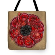 Recycled Poppy Tote Bag