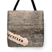 Recycled Wood Tote Bag