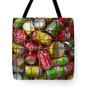 Recycling Cans Tote Bag