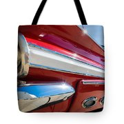 Red 1960 Chevy Low Rider Tote Bag