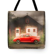 Red 41 Coupe Tote Bag