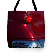 Red 50's Classic Tail Light Tote Bag