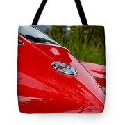Red 63 Vette Tote Bag