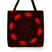 Red Abstract 031211 Tote Bag