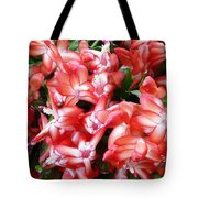 Red Abundance Tote Bag