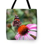 Red Admiral 1543 Tote Bag
