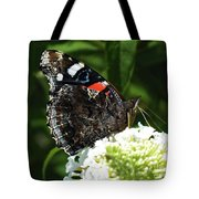 Red Admiral - Underside Tote Bag