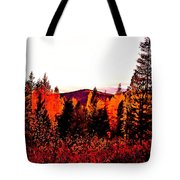 Red   Adventure  Tote Bag