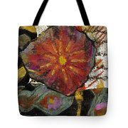 Red Affection Tote Bag by Angela L Walker