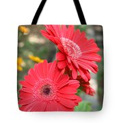 Red Afternoon Tote Bag