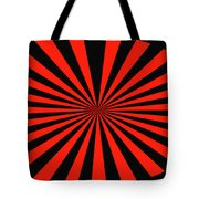 Red And Black Abstract #3 Tote Bag