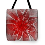 Red And Black  -f D- Tote Bag