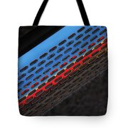 Red And Blue Shine Tote Bag