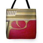 Red And Gold Gun  Tote Bag