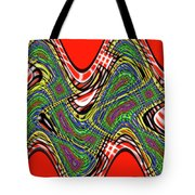 Red And Green Thing Tote Bag