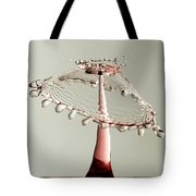 Red And White Crown Tote Bag