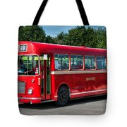 Red And White Rs 167 - Bristol Resl6l #1 Tote Bag