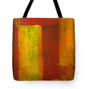 Red And Yellow #1 Tote Bag