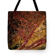 Red And Yellow Abstract Tote Bag