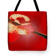 Red Apple Tote Bag