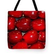 Red Apples Tote Bag