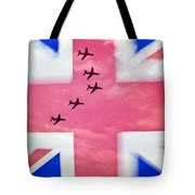 Red Arrows Flag Tote Bag