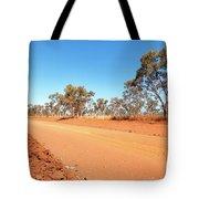 Red Australia Tote Bag