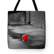 Red Balloon I Tote Bag