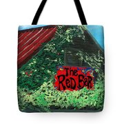 Red Bar - Grayton Beach Tote Bag