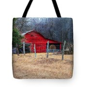Red Barn A Long The Way Tote Bag