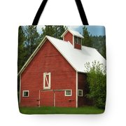 Red Barn Montana Tote Bag