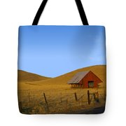 Red Barn Summer Tote Bag