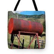 Red Barrel Tote Bag