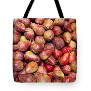 Red Bartlett Pears Tote Bag