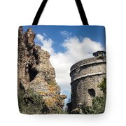 Red Basilica Scene 1 Tote Bag